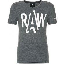 G-Star Raw Tričká s krátkym rukávom FULER šedá