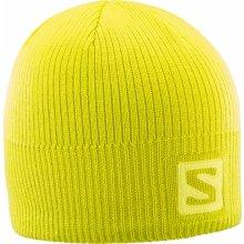1e6a85489 SALOMON Logo Beanie Sulphur Spring 18/19 Žltá