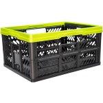 bdd40e17c825f OKT Plastový skládací box malý zelený 32 l 47 x 34 x 23 cm