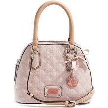 GUESS Elegantní kabelka Juliet Amour Dome Satchel Light Pink mGU0189