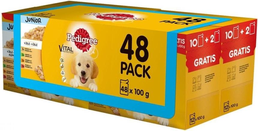 Pedigree Adult 4x 12 x 100 g