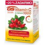 GS Vitamín C 1000 so šípkami 120 kapsúl