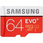 Samsung EVO Plus microSDXC 64GB UHS-I + adaptér MB-MC64DA/EU