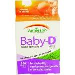 Jamieson Baby-D Vitamín D 400IU kvapky 11,7 ml