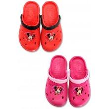 8d98c22b0e Minnie Sandále ružové a červené červené