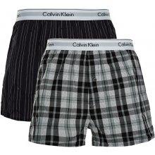 fa906ce2cd Calvin Klein Sada treniek Modern Cotton Stretch Slim Boxer 2P NB1396A-JKZ  Ryan Stripe Deep