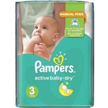 Pampers Active Baby 3 Midi 5-9 kg 208 ks