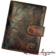Wild 10700-1 pánska kožená Always N4L-BC hnedá peňaženka