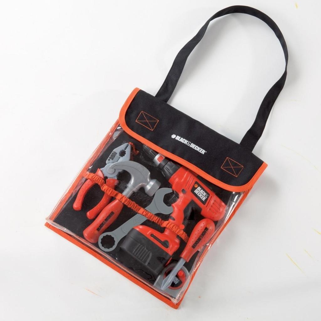 946c8ec7d0f13 SMOBY 500072 detské pracovné náradie v taške Black&Decker s mechanickou  vŕtačkou od 18,59 € - Heureka.sk
