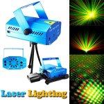Disco laser laserový projektor