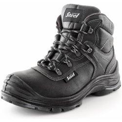 96411cfe2f SAFETY STEEL CHROME S3 členková pracovná obuv od 42