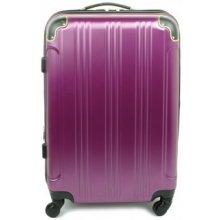 Madisson 40106 kvalitný cestovný kufor malý 55x36x21cm Fialová