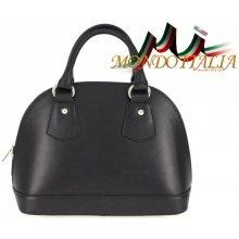 6cc2a13e8f017 Made In Italy kožená kabelka 900 čierna
