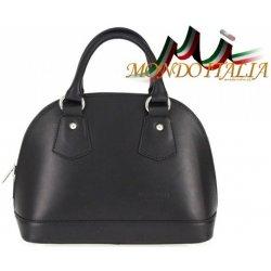 Made In Italy kožená kabelka 900 čierna od 48 919a6a182a3