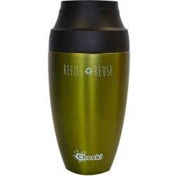 Cheeki Cestovný nerezový termohrnček na kávu Olive 0 214edb7a29f
