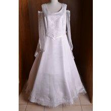 Svadobné šaty biele 17