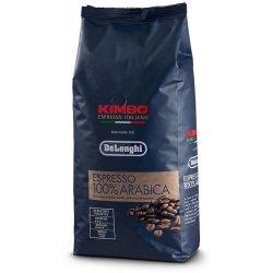kava DeLonghi Kimbo Espresso 100% Arabica zrnková káva 1 kg