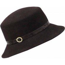 2c0274e7c Anytra Hnedý elegantný dámsky klobúk 87048
