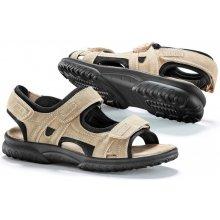 Blancheporte Sandále so suchými zipsami gaštanová