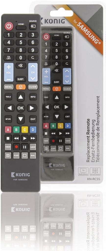 83ea1cc9f Diaľkový ovládač Diaľkový ovládač König KN-RCSS - Zoznamtovaru.sk