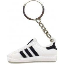 Prívesok na kľúče Adidas Superstar - Biela