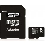 Silicon Power microSDHC 8GB Class 10 SP008GBSTH010V10SP