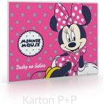 Karton P+P Dosky na číslice Minnie Mouse