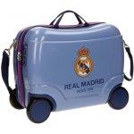 Detský kufrík na kolieskach Real Madrid Futbol Time blue 25 l