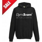 GymBeam Mikina Beyond Limits Black