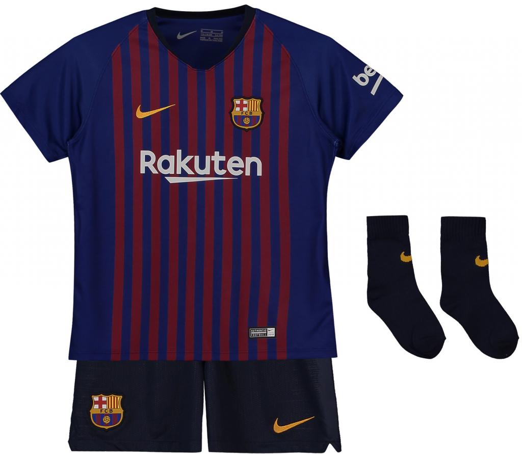 60fdbea467f8f Nike FC Barcelona set detský 2018-2019 domáci + meno a číslo (menšie  veľkosti