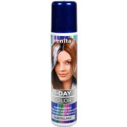 Venita 1-DAY farebný SPREJ NA vlasy STRIEBORNÝ 50 ml alternatívy ... 27a9df493b2