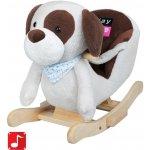 PlayTo houpací hračka pejsek šedohnědý