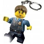 Lego LED kľúčenka Chase McCain Policajt, figúrka 7 cm