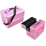 ISO Kufrík kozmetický XL 36x25x24 cm Pink