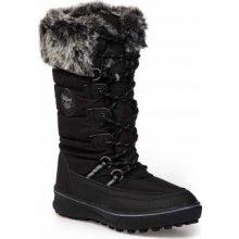 Dámske zimné čižmy čierne