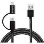 Adata AMFI2IN1-200CMK-CBK Micro USB/Lightning 2.0, černý