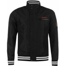 Pierre Cardin Windbreaker jacket mens black