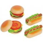 HAPE drevený hamburger a hot dog