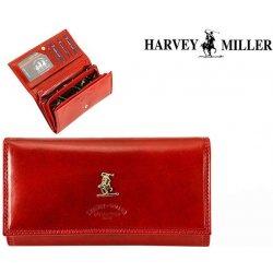 dámska kožená peňaženka Harvey Miller 3820-PL09 červená alternatívy ... f65ed45c1d1