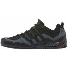 Adidas Pánske outdoorové topánky Performance TERREX SWIFT SOLO Čierna d9c7f9fcf39