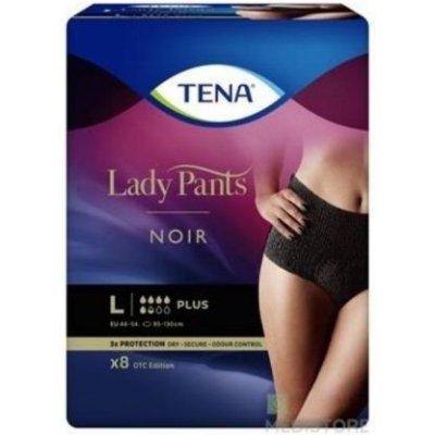 Tena Lady Pants PLUS NOIR LARGE 8 ks