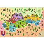 Trefl Edukačné Mapa Slovenska 44 dielov