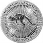 Kangaroo 2018 1 oz Austrália strieborná investičná minca
