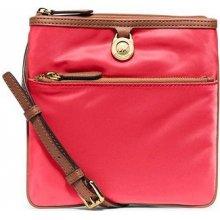 Elegantní crossbody kabelka Small Kempton Nylon Crossbody Bag Waternelon 1043539-4 Michael Kors