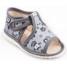 RAK Detské papuče Šedé mačky limitovaná kolekcia