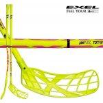 Exel Doublecurve Uniflex Neon Yellow Round SB