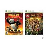 LEGO Indiana Jones: The Original Adventures + Kung Fu Panda