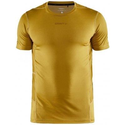 Craft tričko ADV Essence SS žltá
