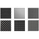 CAS Cerámica BLACK&WHITE Decor Mix 20X20 (1) CBW005