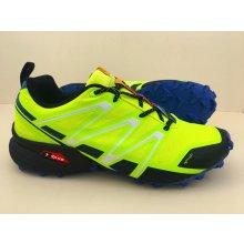 Pánska trailová obuv 3247M5 Modrá Žltá